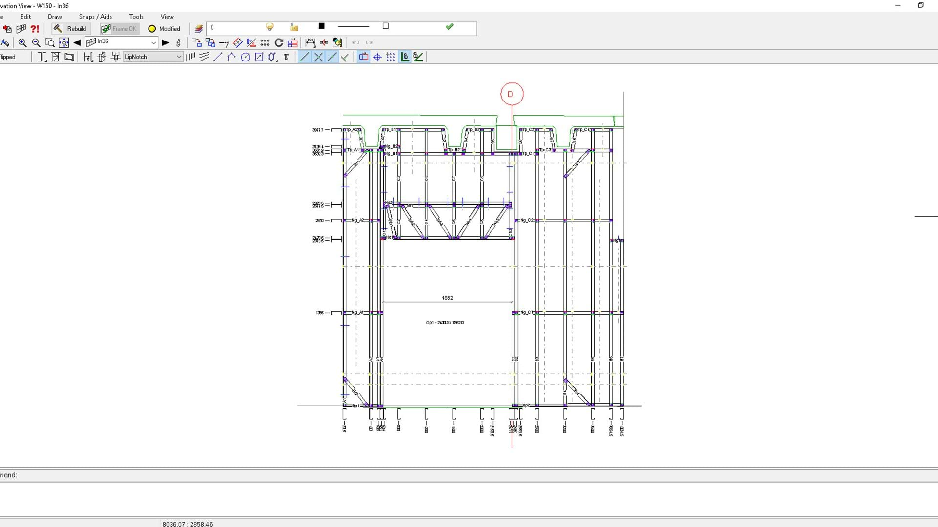 How FRAMECAD software integrates with 3D scanning