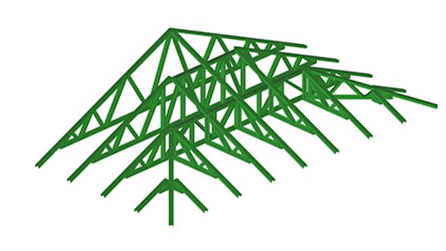 FRAMECAD Trusses & Roof Type Assemblies for Rapid Construction